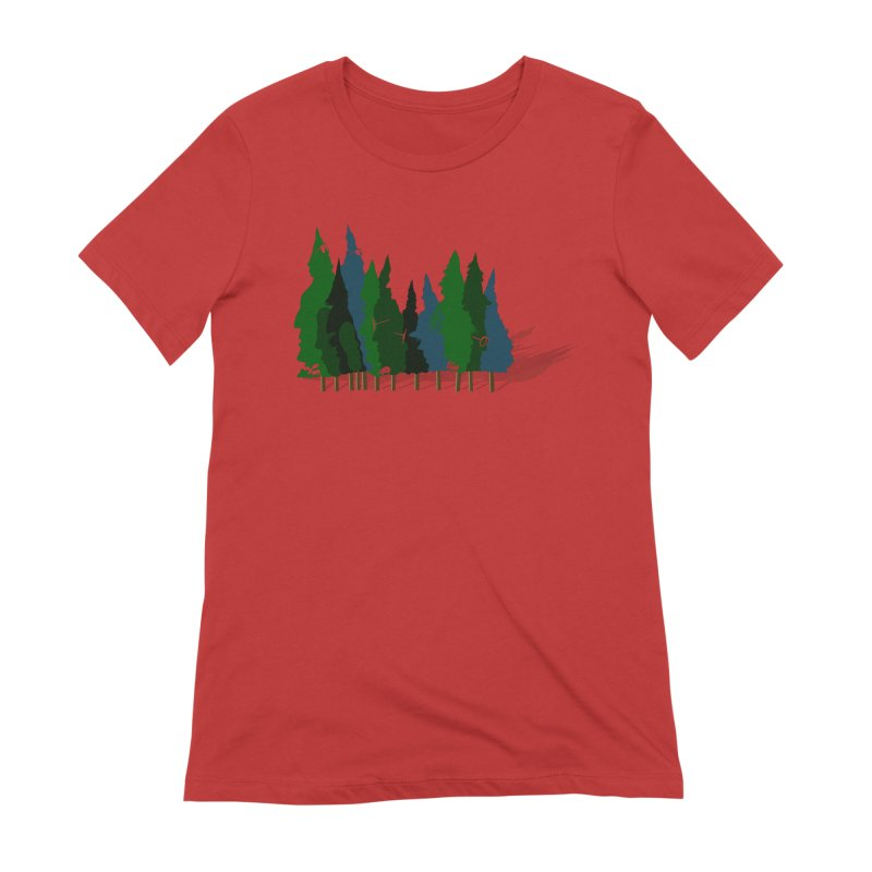 Find it in the Woods Women's Extra Soft T-Shirt by BullShirtCo