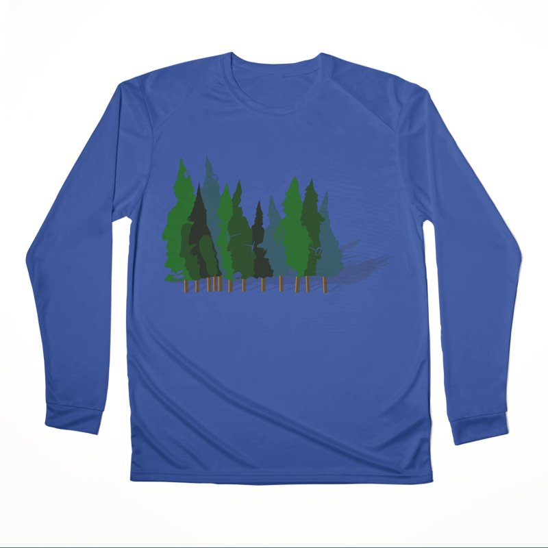 Find it in the Woods Men's Performance Longsleeve T-Shirt by BullShirtCo