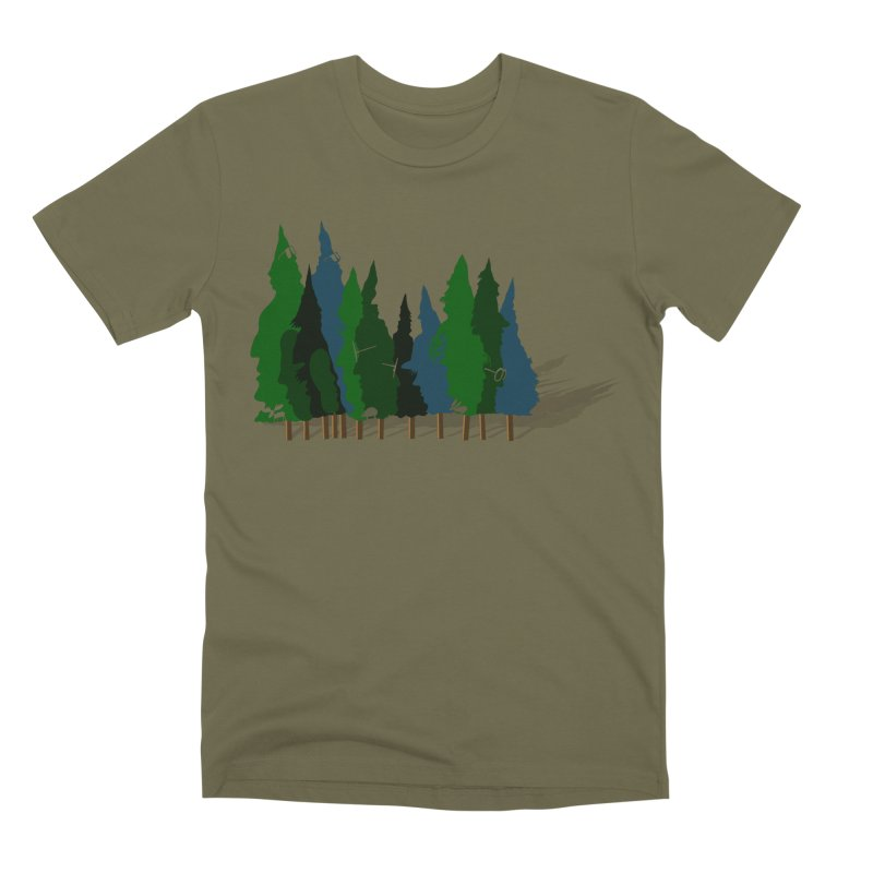 Find it in the Woods Men's Premium T-Shirt by BullShirtCo