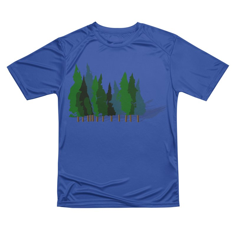 Find it in the Woods Women's Performance Unisex T-Shirt by BullShirtCo