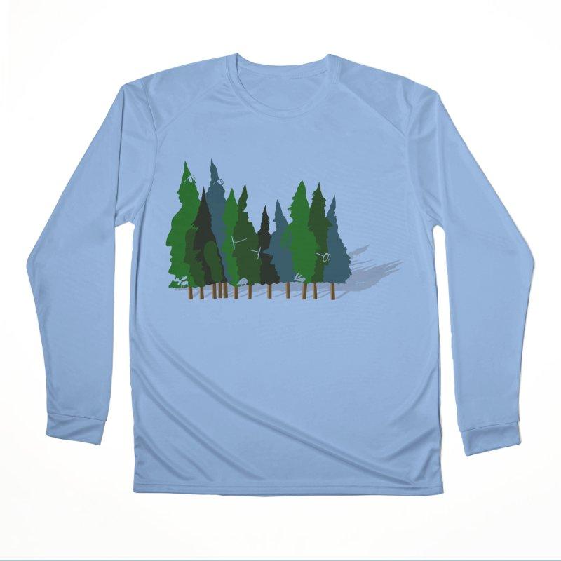 Find it in the Woods Women's Performance Unisex Longsleeve T-Shirt by BullShirtCo