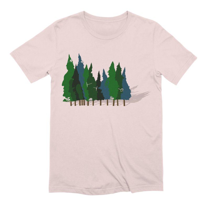 Find it in the Woods Men's Extra Soft T-Shirt by BullShirtCo