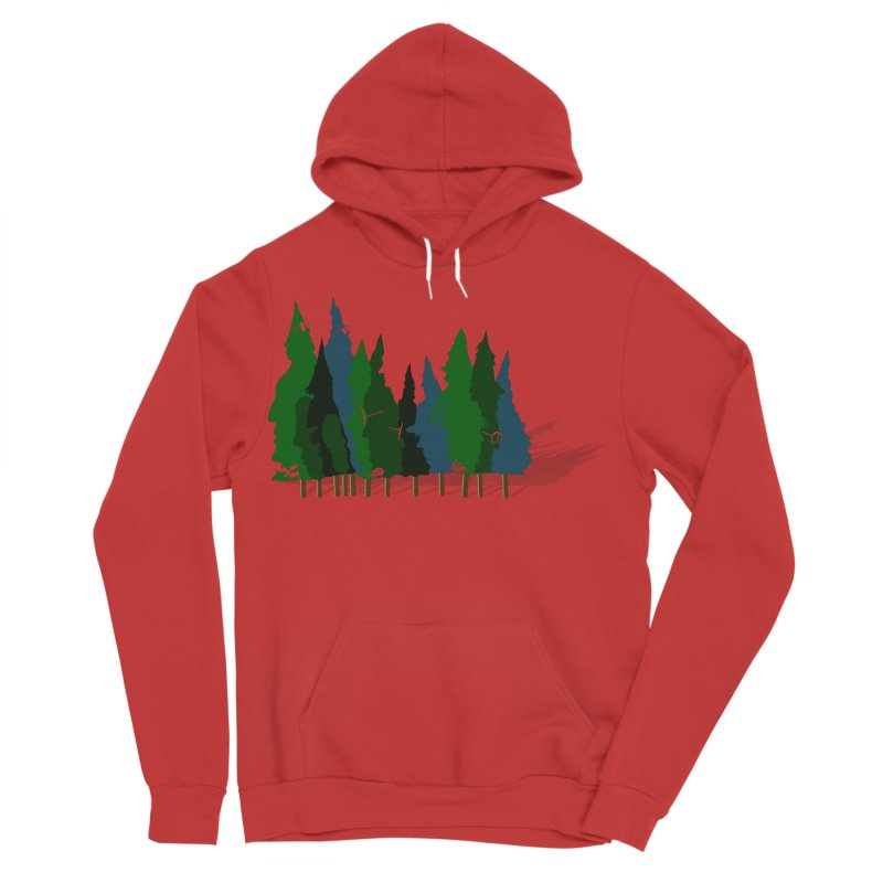 Find it in the Woods Men's Sponge Fleece Pullover Hoody by BullShirtCo