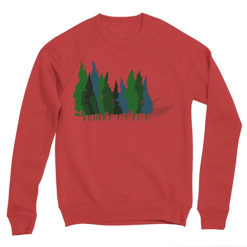 Find it in the Woods Men's Sponge Fleece Sweatshirt by BullShirtCo