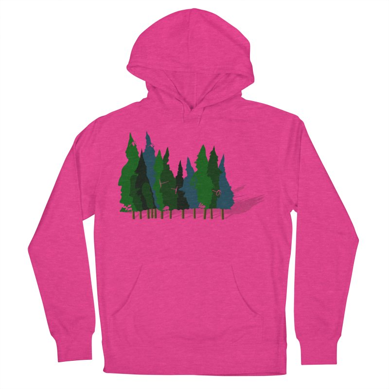 Find it in the Woods Women's French Terry Pullover Hoody by BullShirtCo