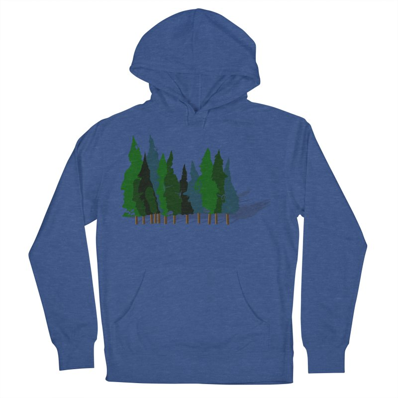 Find it in the Woods Men's French Terry Pullover Hoody by BullShirtCo