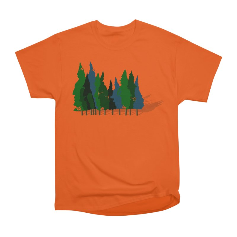 Find it in the Woods Men's Heavyweight T-Shirt by BullShirtCo