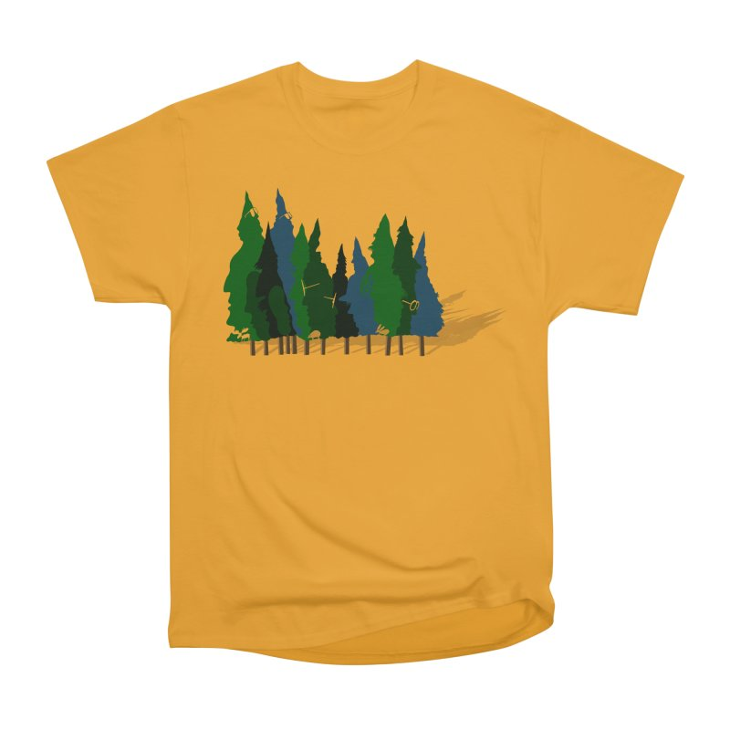 Find it in the Woods Women's Heavyweight Unisex T-Shirt by BullShirtCo