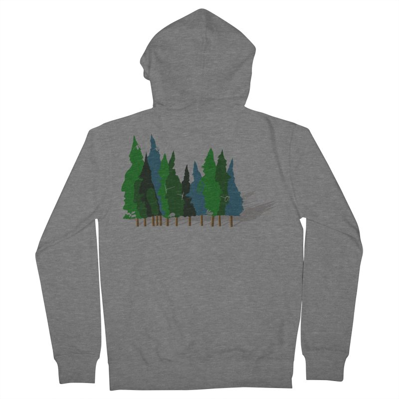 Find it in the Woods Women's French Terry Zip-Up Hoody by BullShirtCo