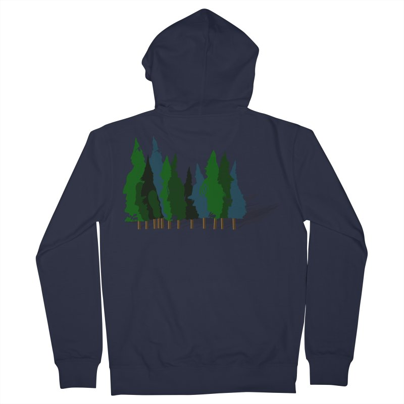 Find it in the Woods Men's French Terry Zip-Up Hoody by BullShirtCo