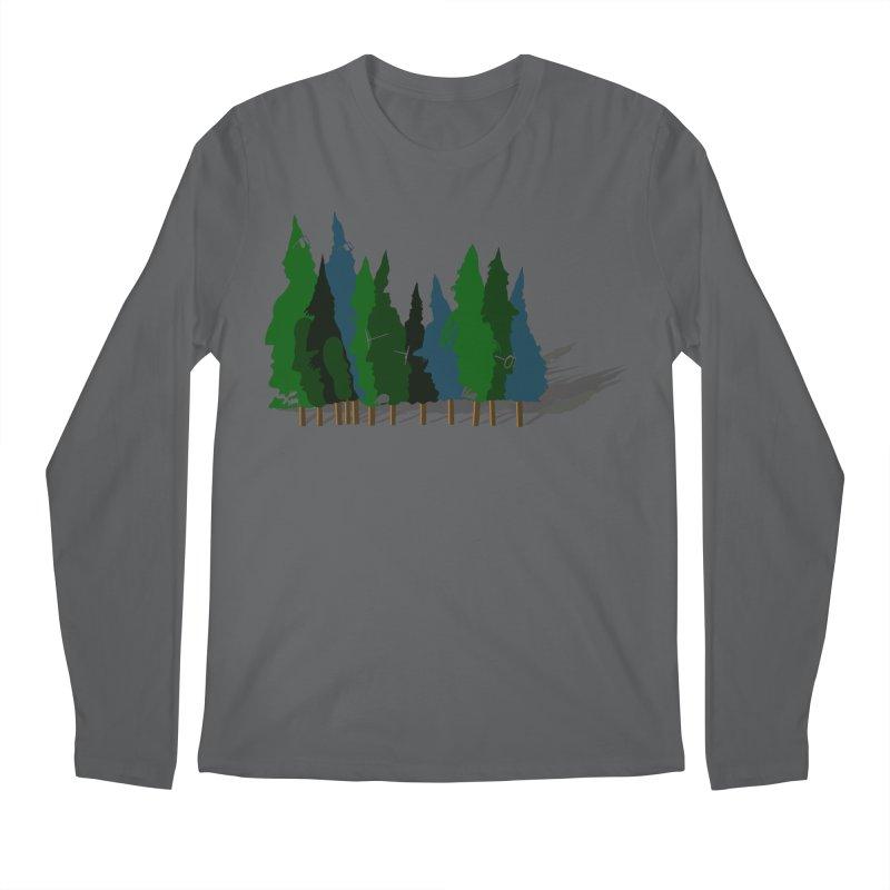 Find it in the Woods Men's Regular Longsleeve T-Shirt by BullShirtCo