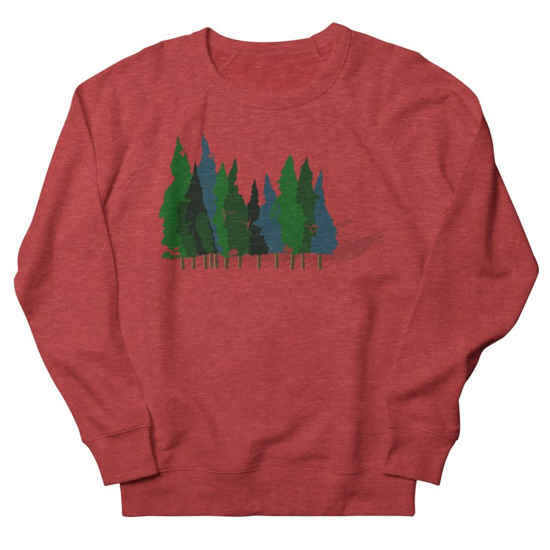Find it in the Woods Women's French Terry Sweatshirt by BullShirtCo