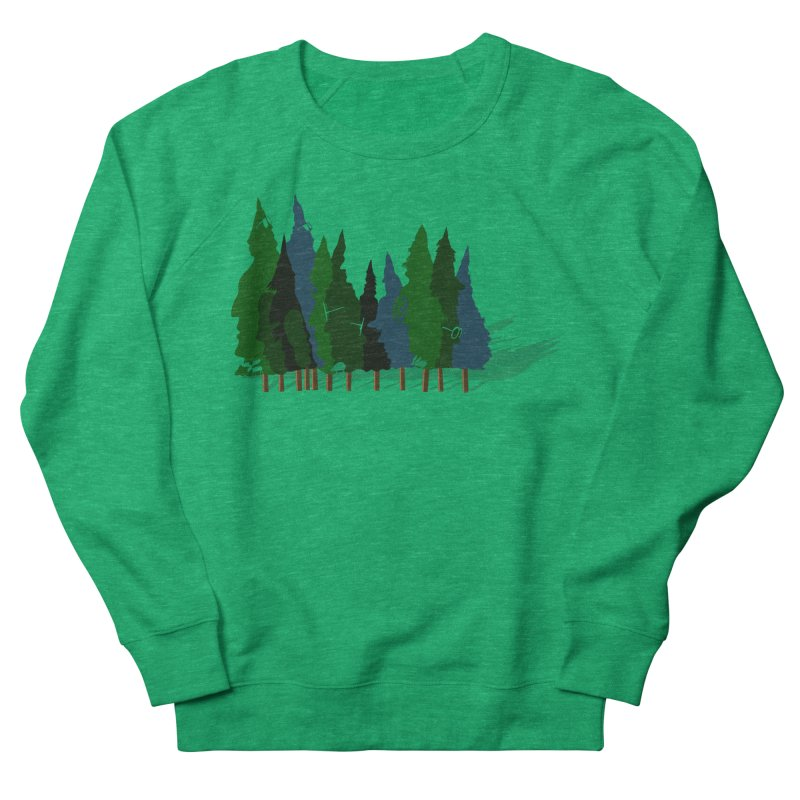 Find it in the Woods Men's French Terry Sweatshirt by BullShirtCo