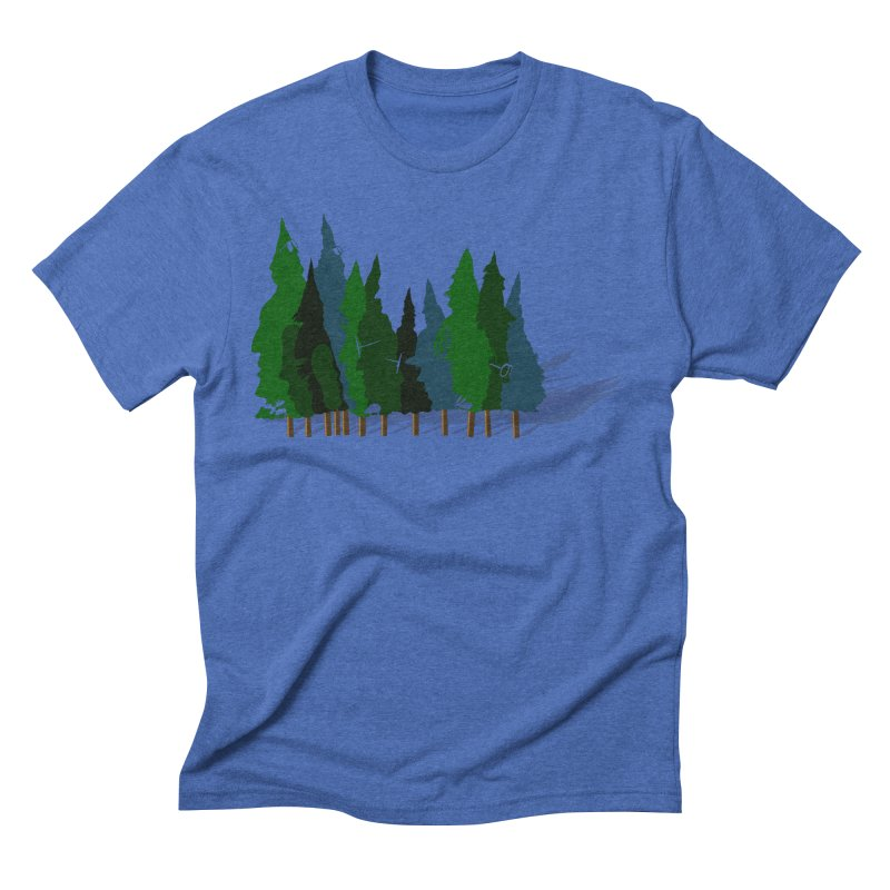 Find it in the Woods Men's Triblend T-Shirt by BullShirtCo