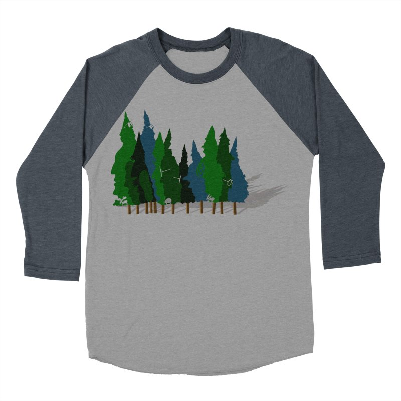 Find it in the Woods Women's Baseball Triblend Longsleeve T-Shirt by BullShirtCo