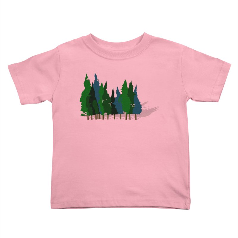 Find it in the Woods Kids Toddler T-Shirt by BullShirtCo