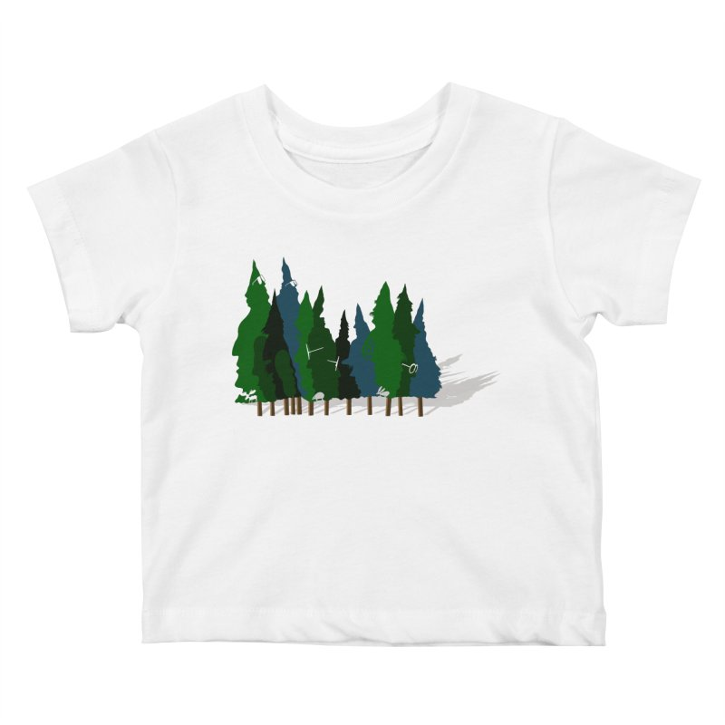 Find it in the Woods Kids Baby T-Shirt by BullShirtCo