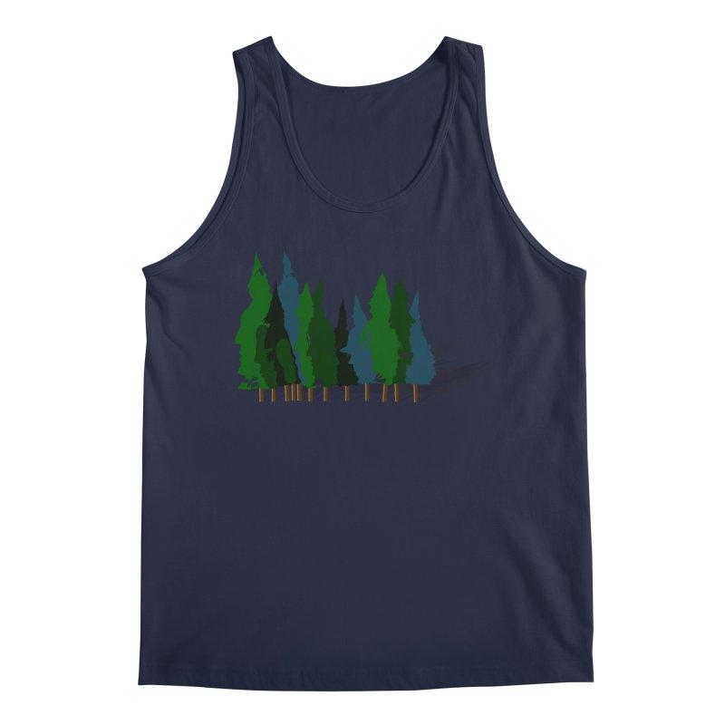 Find it in the Woods Men's Regular Tank by BullShirtCo