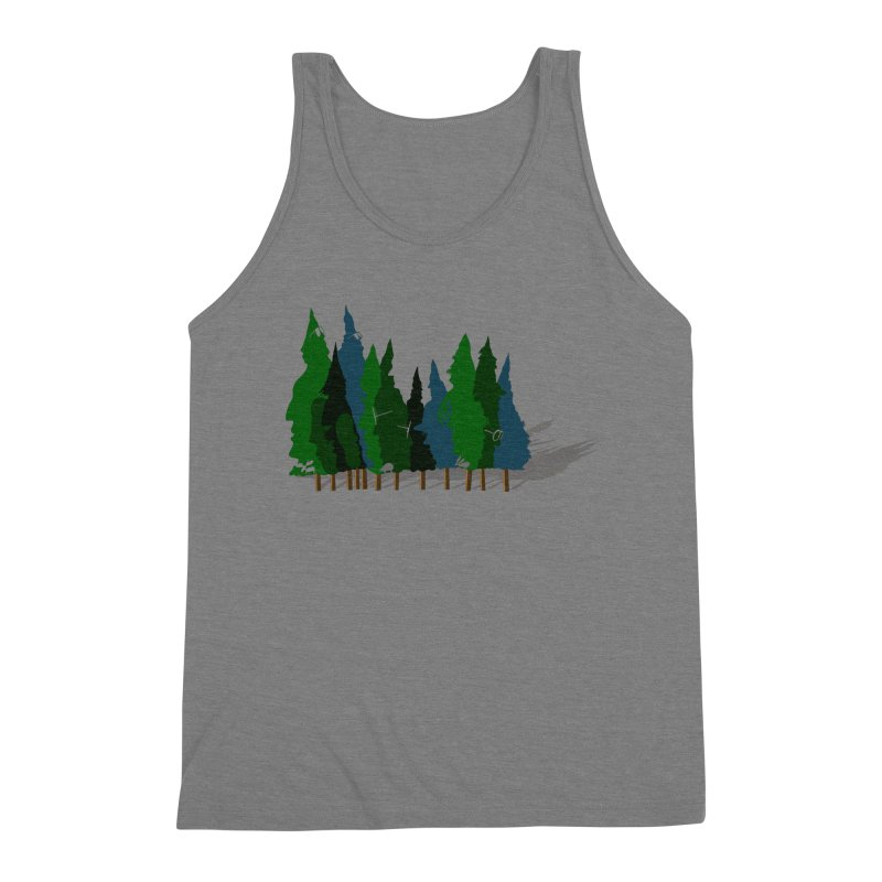 Find it in the Woods Men's Triblend Tank by BullShirtCo