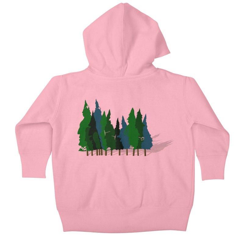 Find it in the Woods Kids Baby Zip-Up Hoody by BullShirtCo