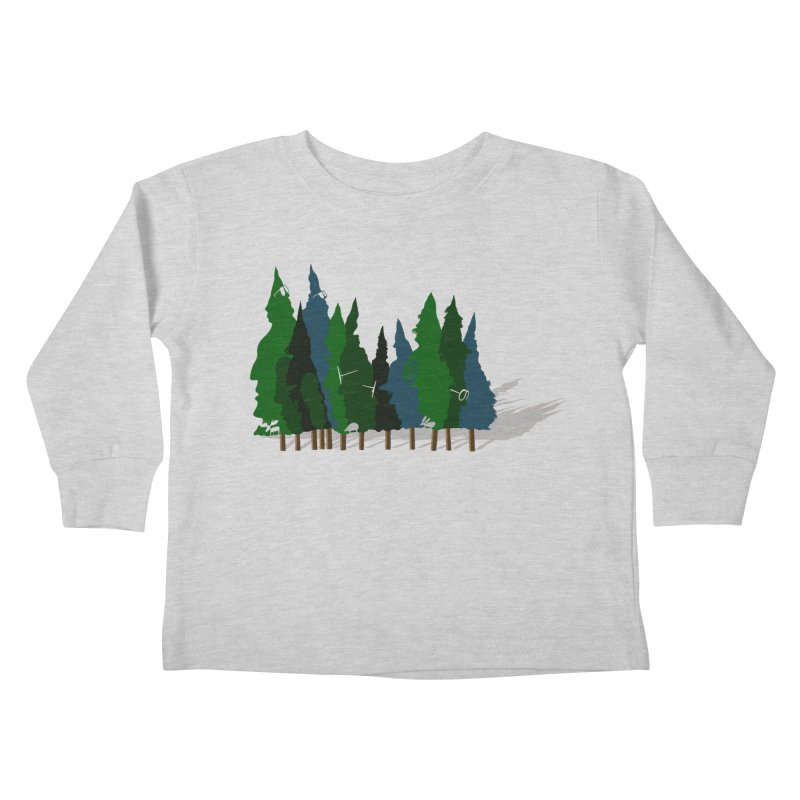 Find it in the Woods Kids Toddler Longsleeve T-Shirt by BullShirtCo
