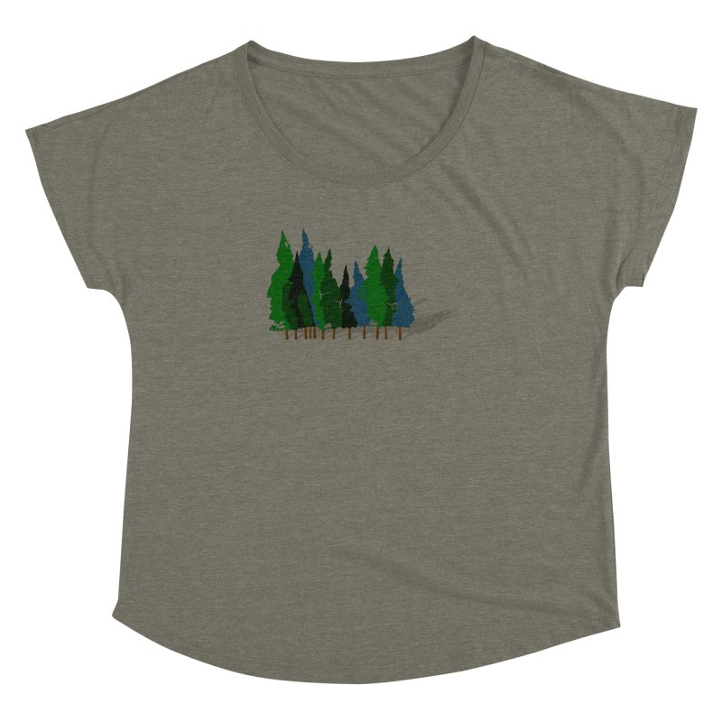 Find it in the Woods Women's Dolman Scoop Neck by BullShirtCo