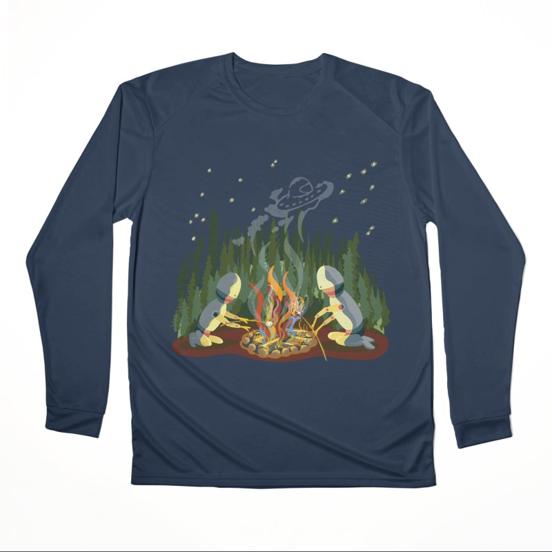 Smoke Signals Men's Performance Longsleeve T-Shirt by BullShirtCo