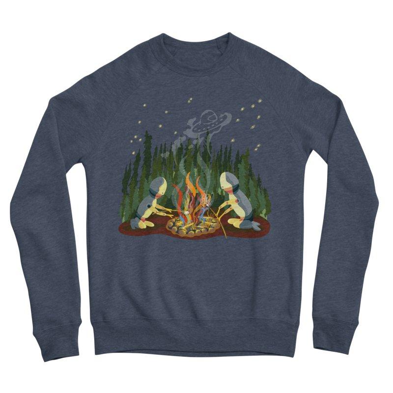 Smoke Signals Men's Sponge Fleece Sweatshirt by BullShirtCo