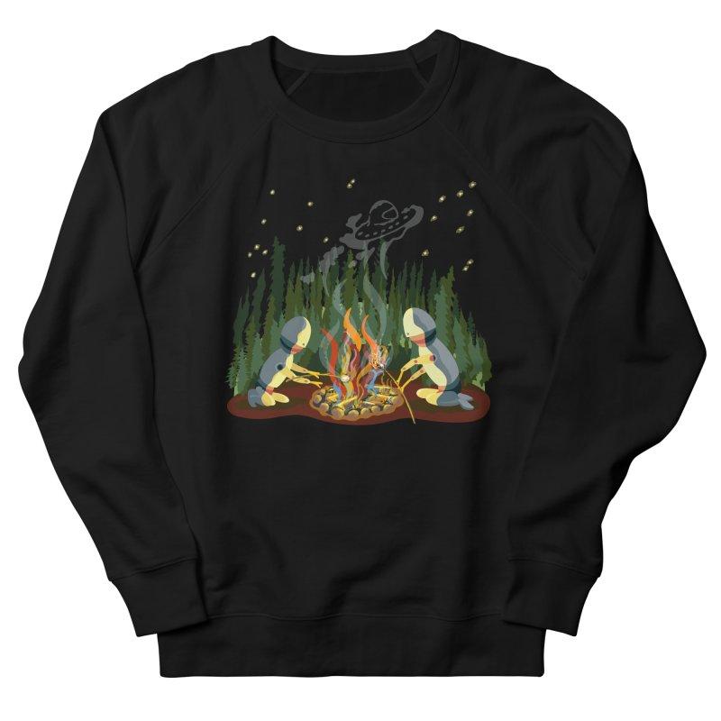 Smoke Signals Women's French Terry Sweatshirt by BullShirtCo
