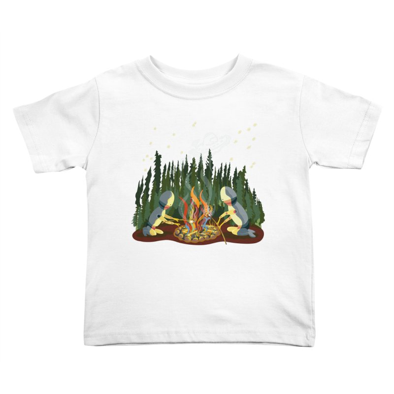 Smoke Signals Kids Toddler T-Shirt by BullShirtCo