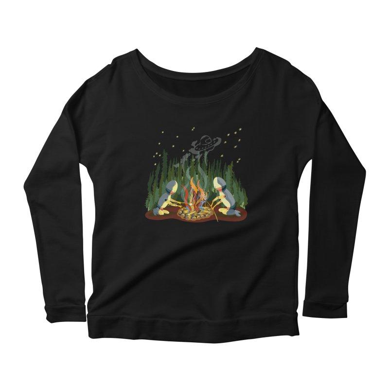 Smoke Signals Women's Scoop Neck Longsleeve T-Shirt by BullShirtCo