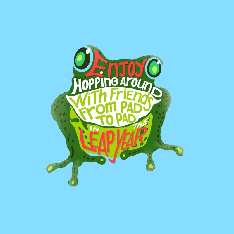 Enjoy Hopping Around! Accessories Sticker by BullShirtCo