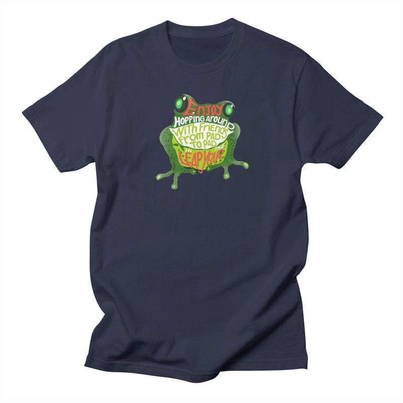 Enjoy Hopping Around! Men's T-Shirt by BullShirtCo
