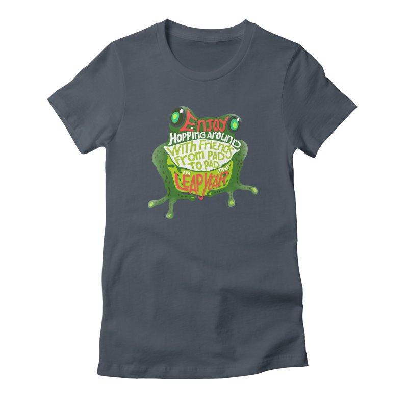 Enjoy Hopping Around! Women's T-Shirt by BullShirtCo