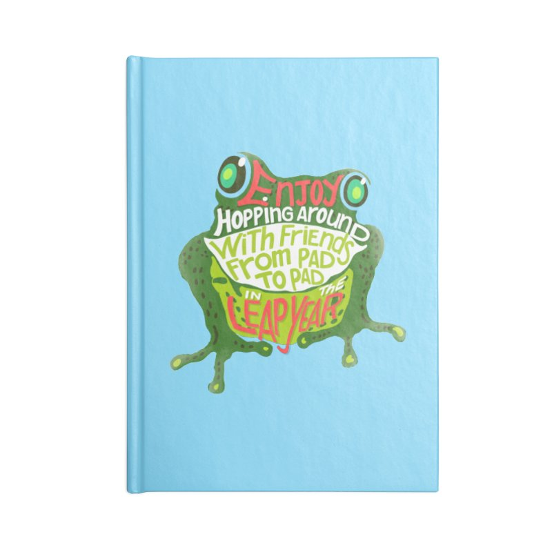Enjoy Hopping Around! Accessories Notebook by BullShirtCo