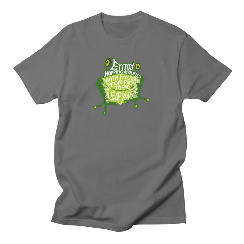 Leaping from Pad to Pad Men's T-Shirt by BullShirtCo