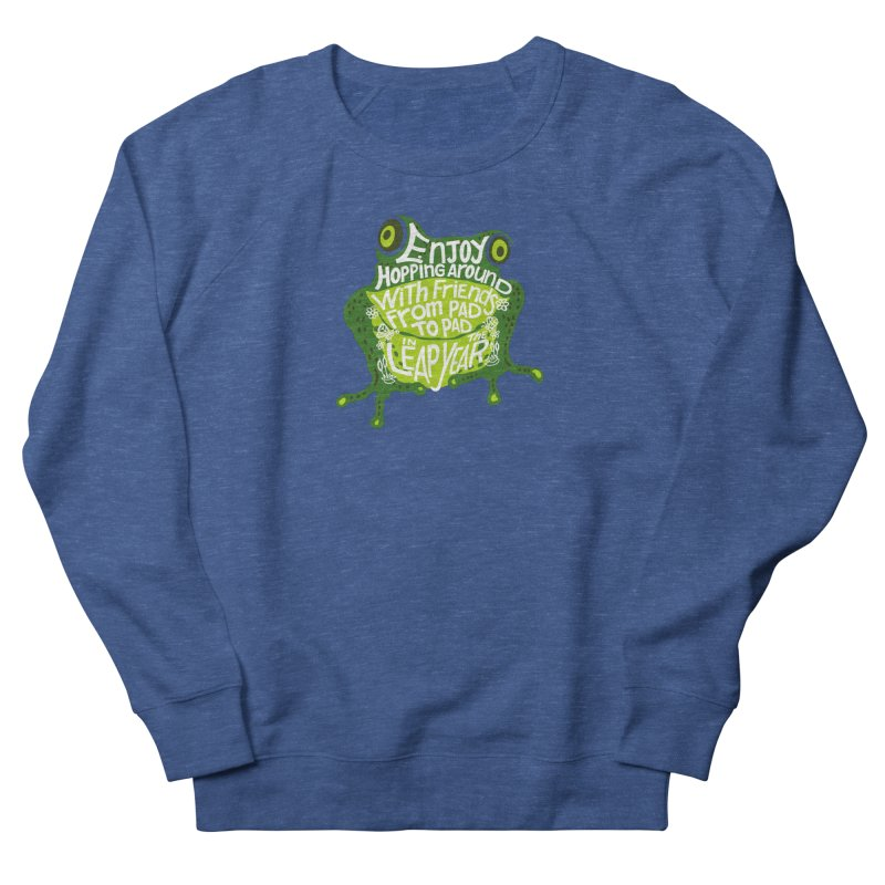 Leaping from Pad to Pad Men's Sweatshirt by BullShirtCo