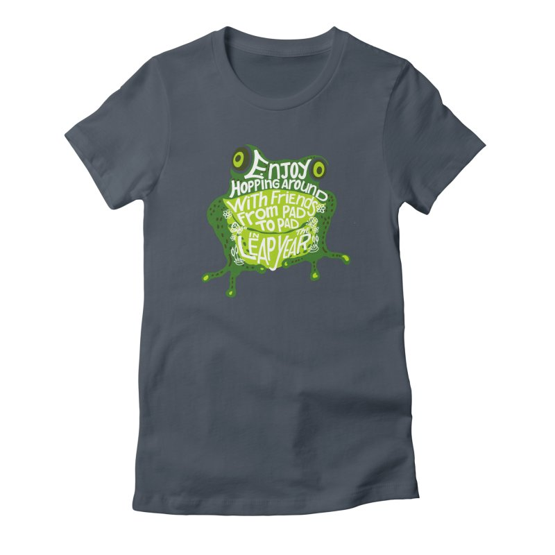 Leaping from Pad to Pad Women's T-Shirt by BullShirtCo
