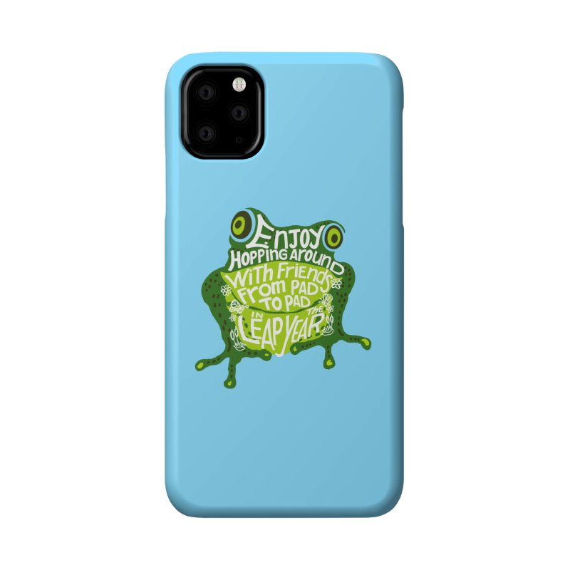 Leaping from Pad to Pad Accessories Phone Case by BullShirtCo