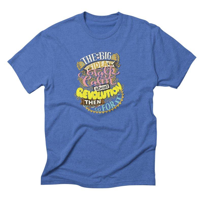 Talk calm but wear a nice shirt. Men's T-Shirt by BullShirtCo