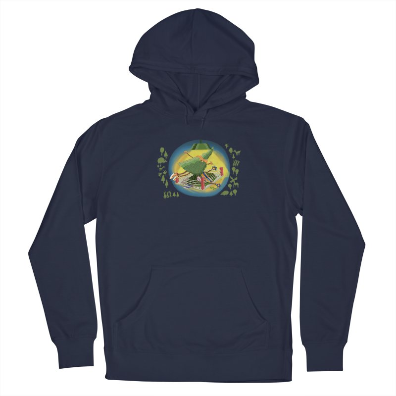 A Tree Falls in the Forest Men's Pullover Hoody by BullShirtCo