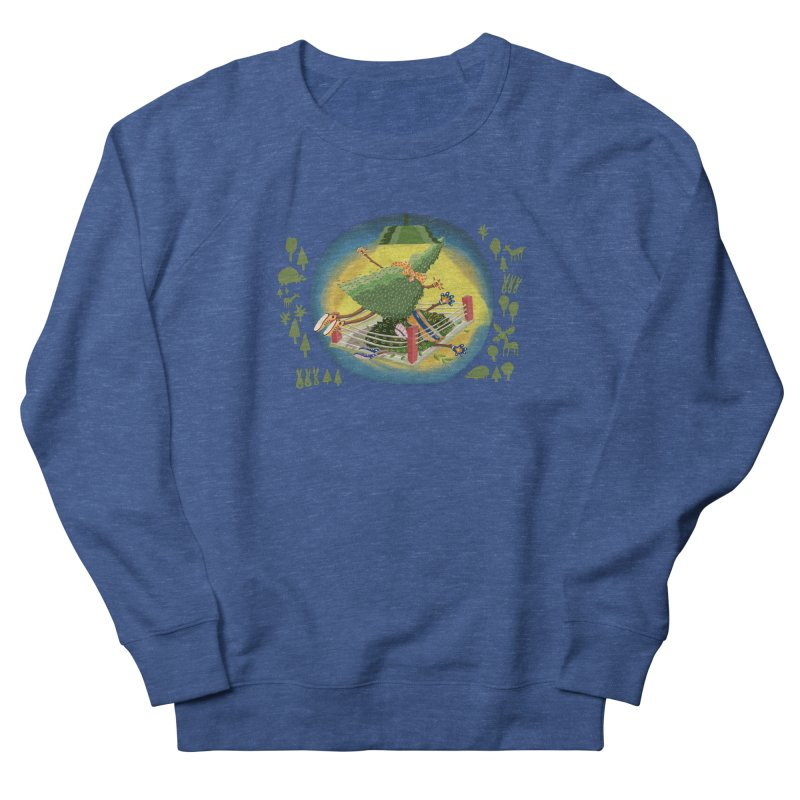 A Tree Falls in the Forest Men's Sweatshirt by BullShirtCo
