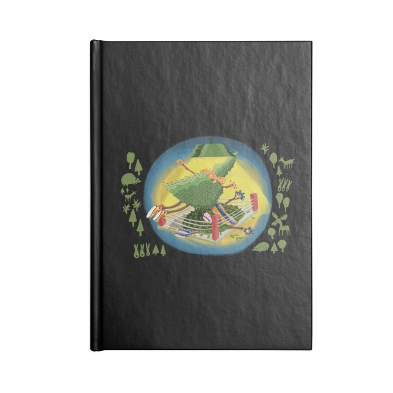 A Tree Falls in the Forest Accessories Notebook by BullShirtCo