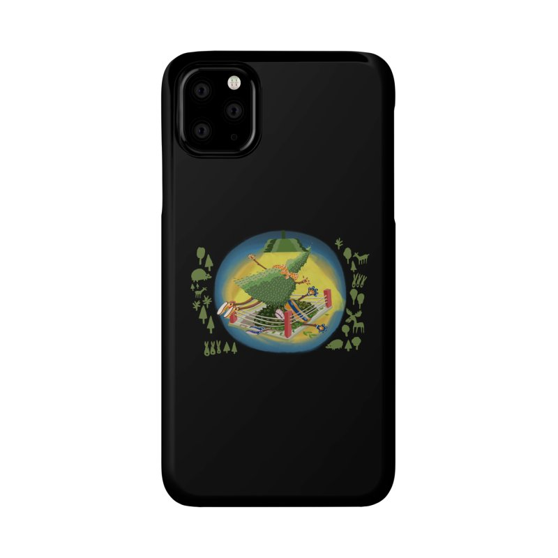 A Tree Falls in the Forest Accessories Phone Case by BullShirtCo
