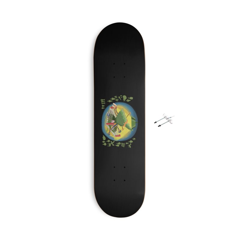 A Tree Falls in the Forest Accessories With Hanging Hardware Skateboard by BullShirtCo