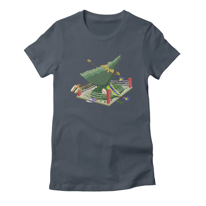 A Tree Falls in the Forest Women's T-Shirt by BullShirtCo