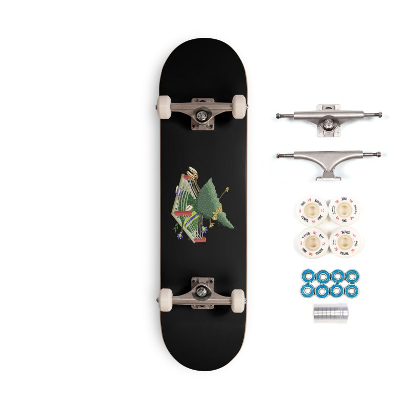 A Tree Falls in the Forest Accessories Complete - Premium Skateboard by BullShirtCo