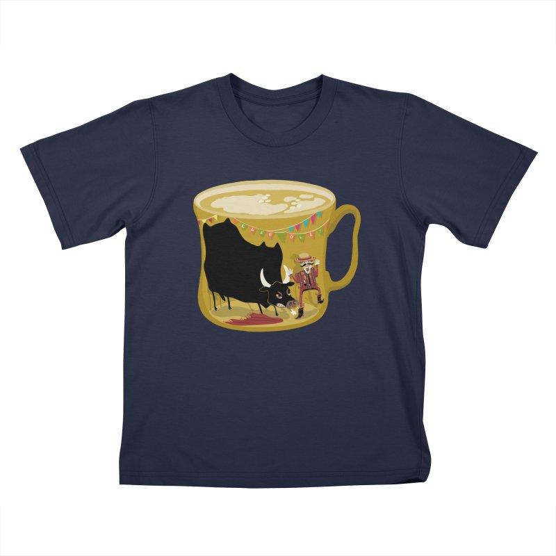 Café Olé Kids T-Shirt by BullShirtCo