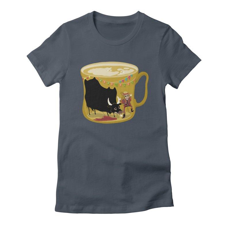 Café Olé Women's T-Shirt by BullShirtCo