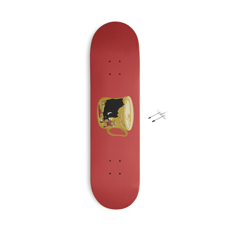 Café Olé Accessories With Hanging Hardware Skateboard by BullShirtCo